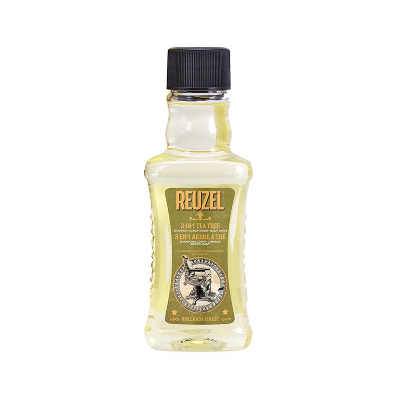 Шампунь (3 в 1) Reuzel Tea Tree Shampoo, Conditioner And Body Wash 100 мл