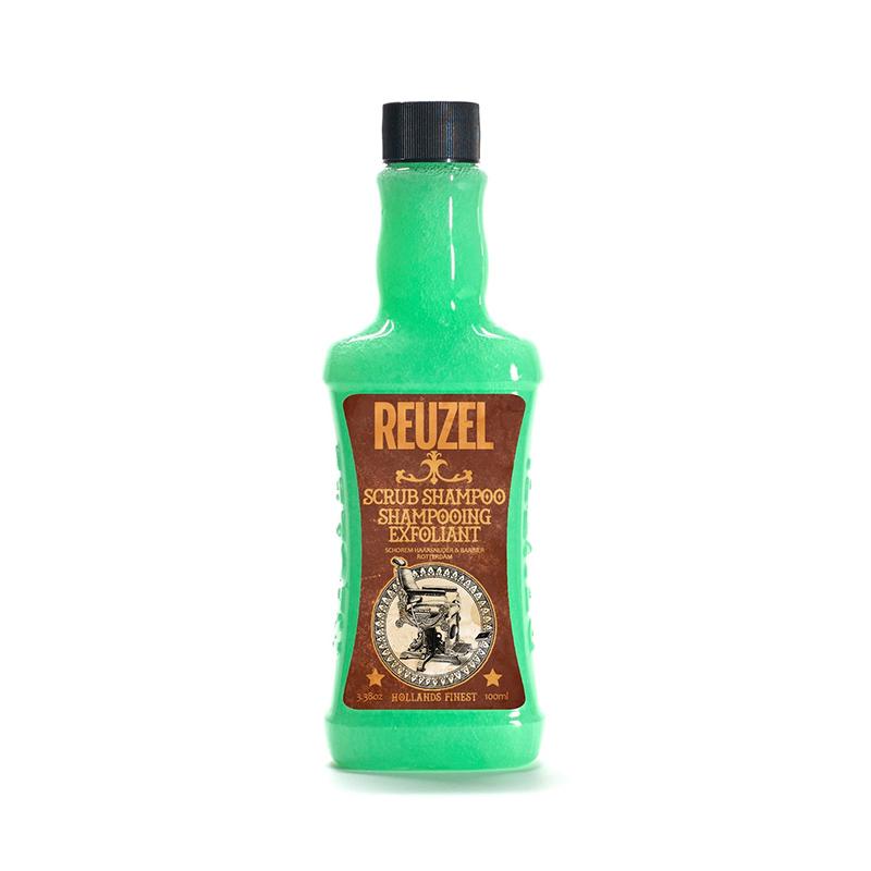 Reuzel Scrub shampoo Шампунь-скраб крапива и розмарин 100 мл