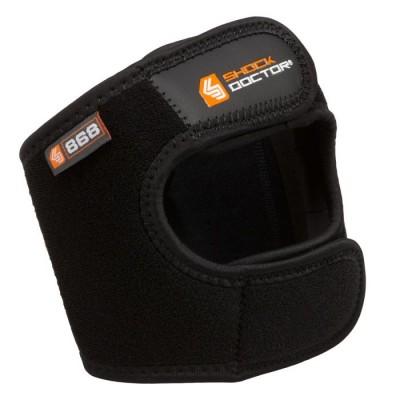 Поддержка коленной чашечки с двойным ремешком SHOCK DOCTOR