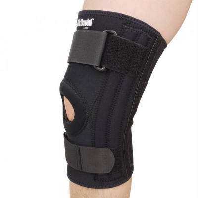 McDAVID Knee Support w/Stays Classic Logo