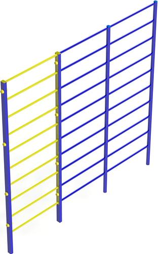 Вуличні шведські сходи / Уличная шведская лесница