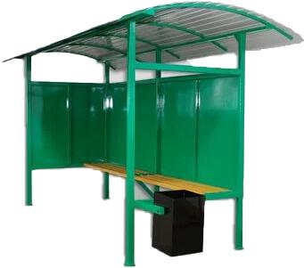 Автобусна зупинка / Автобусная остановка