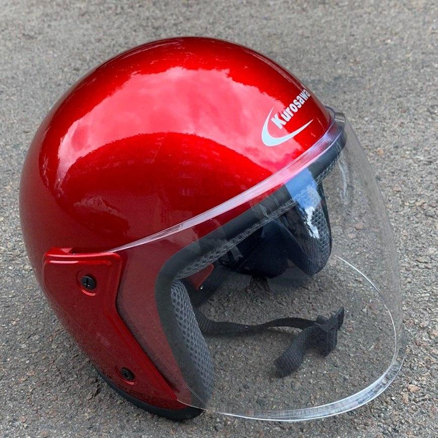 Шлем открытый со стеклом (Код: 04-147 )