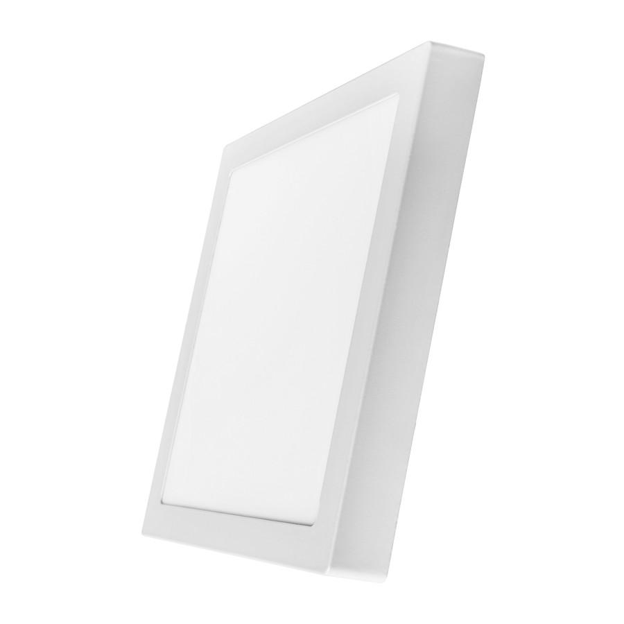 Світильник світлодіодний накладний стельовий DELUX CFQ LED 10 4100К 24Вт 220В квадрат