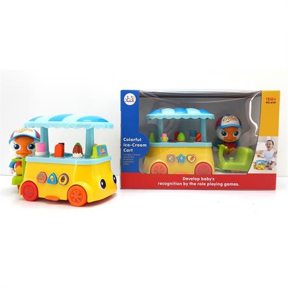 Игрушка Huile Toys Тележка с мороженым (6101)