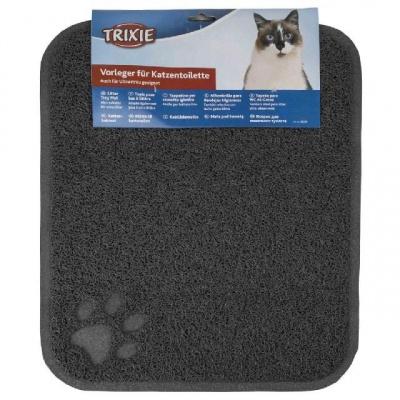 Коврик под туалет Trixie 40381 37х45 см Серый