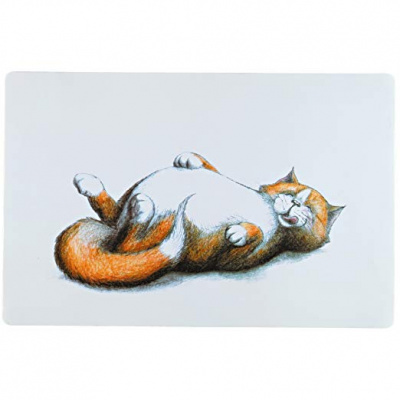 Коврик под миски Trixie Thick Cat 44 x 28 см