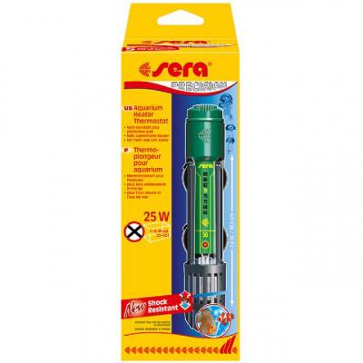 Аквариумный нагреватель Sera Aquarium Heater Thermostat с терморегулированием, 25 Вт