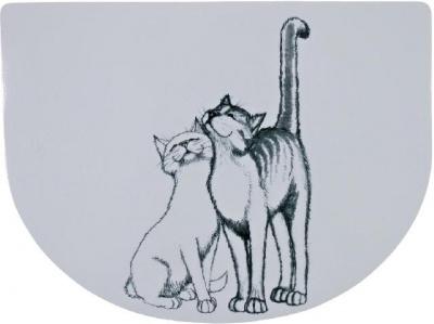 Коврик под миски Trixie Pussy Cat 40 x 30 см