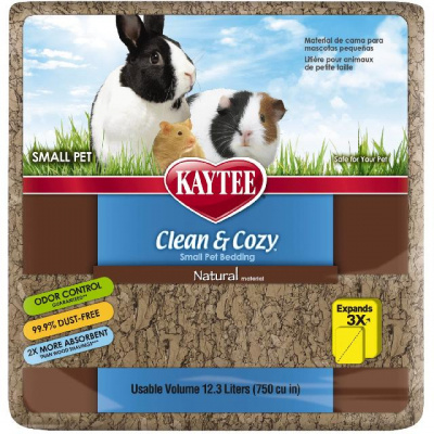 Целлюлозная подстилка Kaytee Clean&Cozy Natural натурал 4.1 л (790 г)