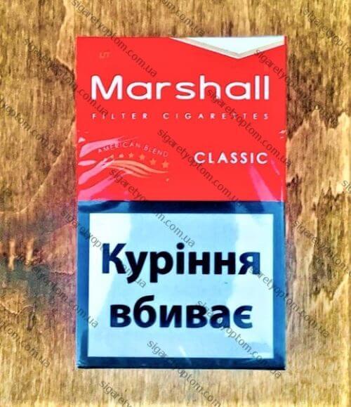 Сигареты MARSHALL RED мелким оптом