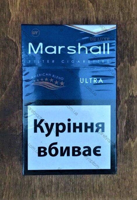 Сигареты MARSHALL BLUE мелким оптом
