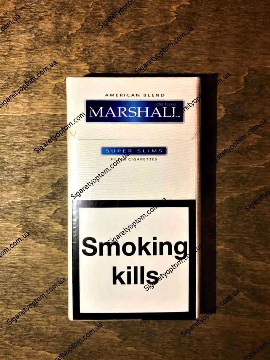 Сигареты Marshal super slims (Маршал супер слимс) оптом