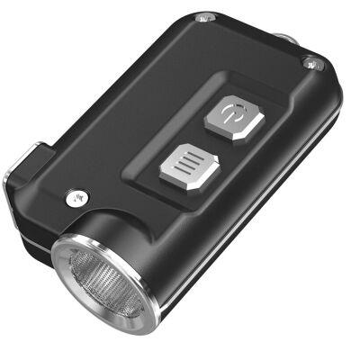Ліхтар Nitecore TINI 380 люмен USB сірий