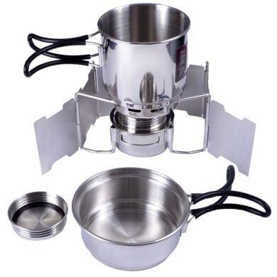 Набір туристичного посуду Tatonka Alcohol Burner Set 4133.000
