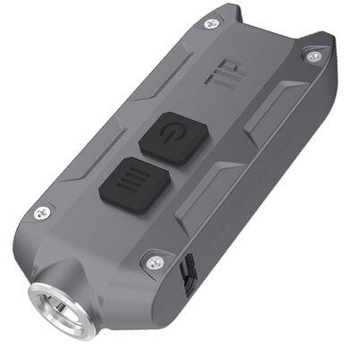 Ліхтар Nitecore TIP 360 люмен USB сірий