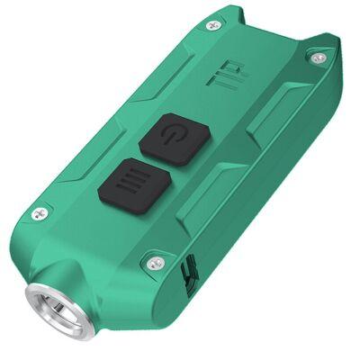 Ліхтар Nitecore TIP 360 люмен USB зелений