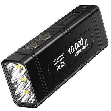 Ліхтар Nitecore TM10K з OLED дисплеєм 6xCree XHP35 HD 10000 люмен Type C