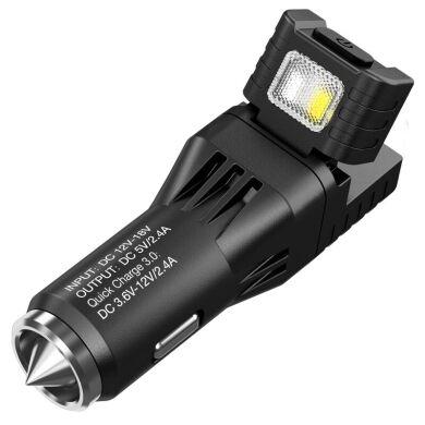 Багатофункціональний ліхтар від прикурювача і автомобільний зарядний пристрій Nitecore VCL10