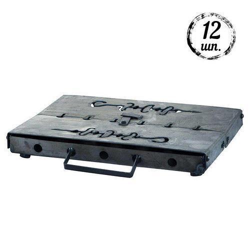 Мангал-чемодан DV - 12 шп. x 1,5 мм (холоднокатанный) | Х008