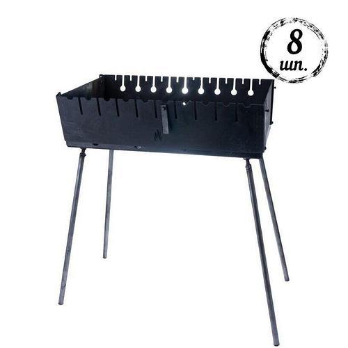 Мангал-чемодан DV - 8 шп (горячекатаный) | Х2