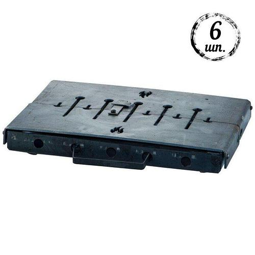 Мангал-чемодан DV - 6 шп. x 3 мм (горячекатаный) | Х001