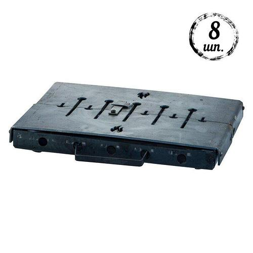 Мангал-чемодан DV - 8 шп. x 3 мм (горячекатаный) | Х002