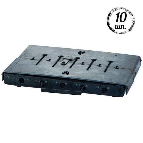 Мангал-чемодан DV - 10 шп. x 3 мм (горячекатаный) | Х003