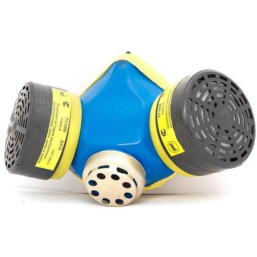 Респиратор - РУ-60М (марка А1В1Е1Р2 ФП) с 2-мя химическими угольными фильтрами (носик металл, размер 3) | VTR (Украина) DR-0011