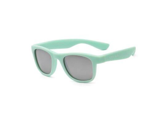 Детские солнцезащитные очки Koolsun KS-WABA003 мятного цвета серии Wave (Размер: 3+)