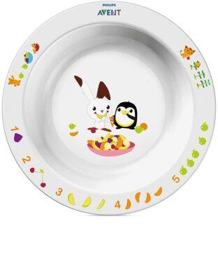 Детская глубокая тарелка Avent 12+ SCF704/00