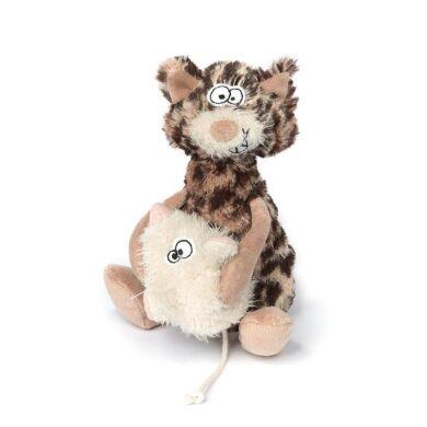 Мягкая игрушка sigikid Beasts Кот и мышка 38934SK