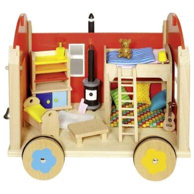 Кукольный домик goki Тележка пилигримов 51814G