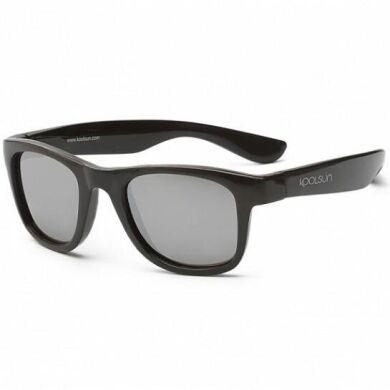 Детские солнцезащитные очки Koolsun черные серии Wave (Размер: 1+)