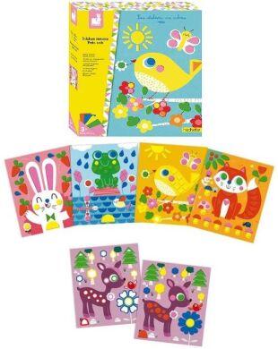 Набор для творчества Janod Картинки с наклейками J07811