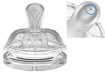 Соска для бутылочки Nuvita 0м+ очень медленный поток NV6061