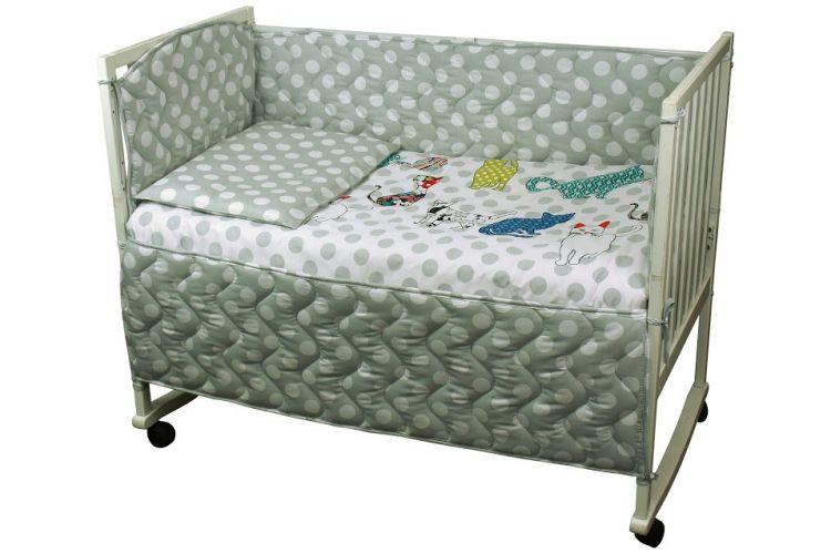 Набор для детской кроватки Коты Руно