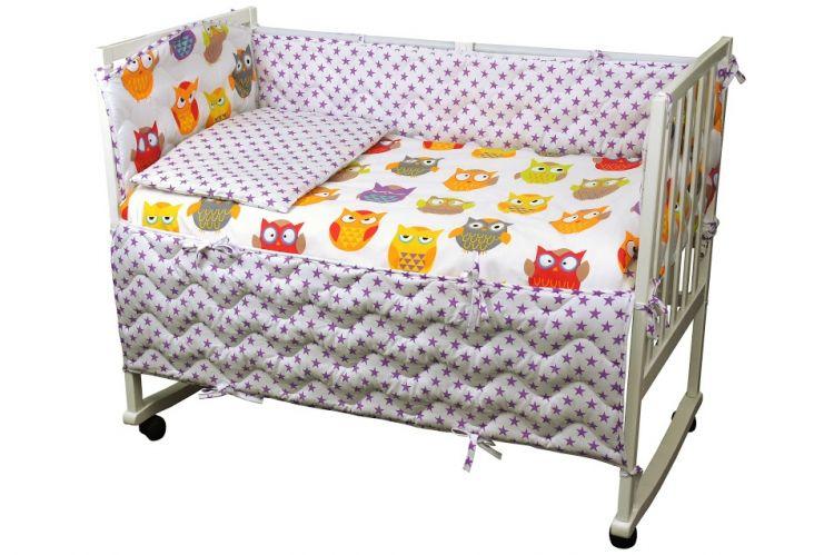 Набор для детской кроватки Совы Руно
