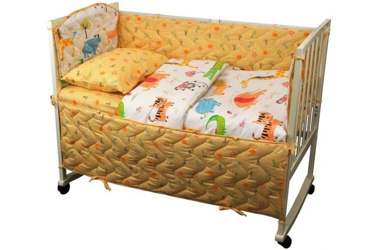 Набор для детской кроватки Jungle
