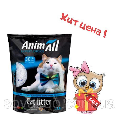 """Наполнитель Animall Энимал силикагель """"Голубой аквамарин"""" 7,6 л супер цена"""