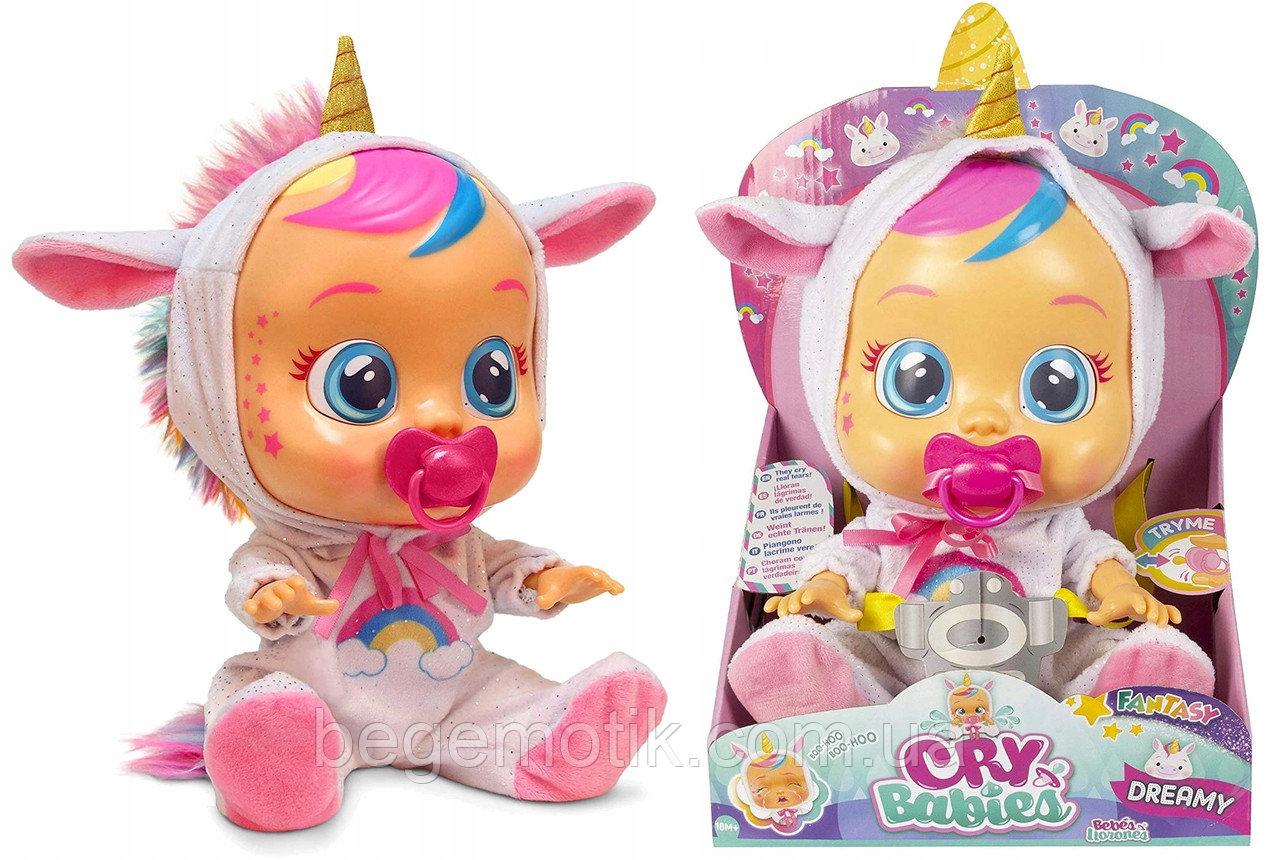Интерактивная Кукла плакса IMC Toys Cry Babies Dreamy the Unicorn Baby Doll Пупс Единорожка Дрими
