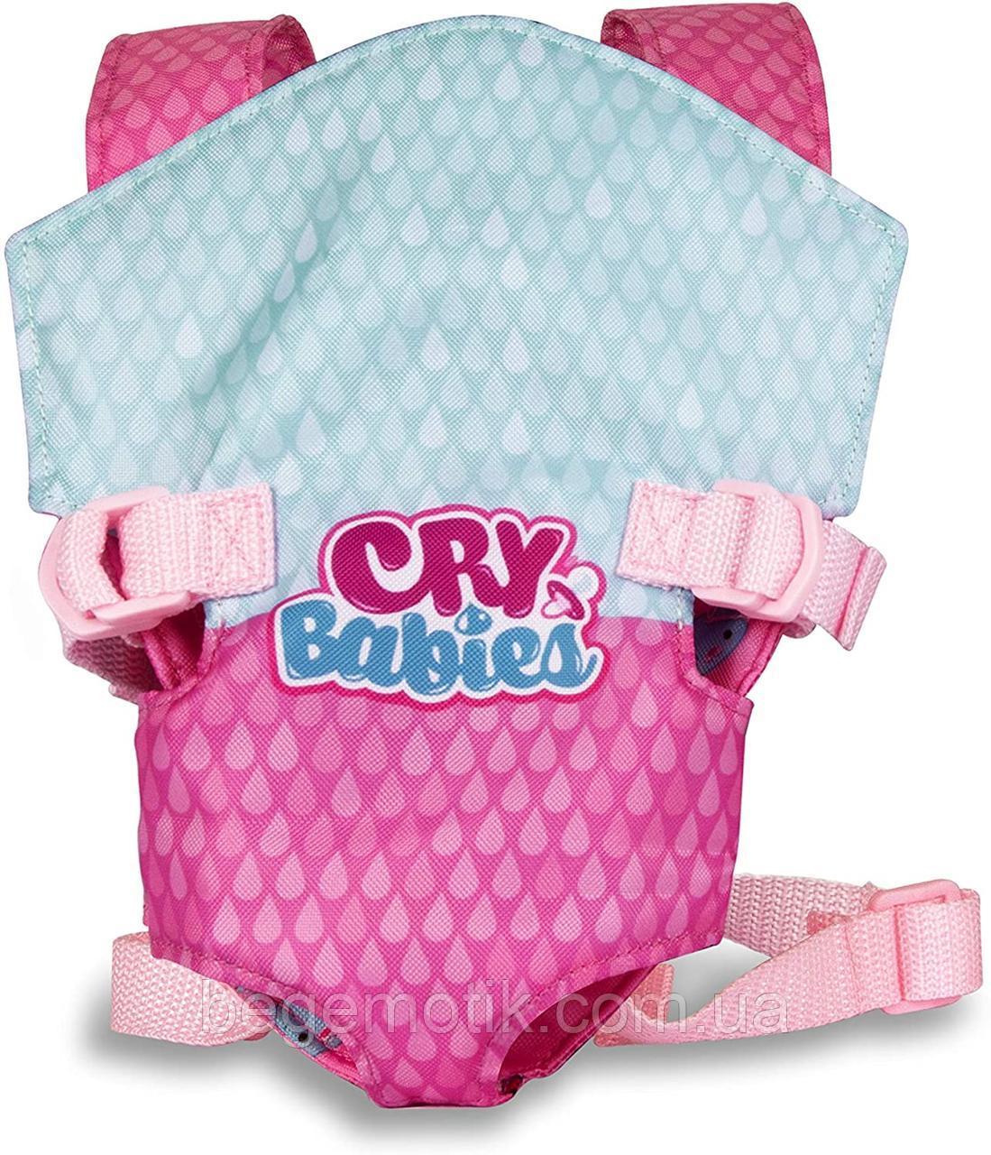 Cry Babies детская переноска для кукол Край Беби IMC Toys 90019IM BEBÉS LLORONES Portabebes Carrier