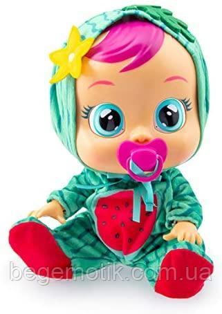 Интерактивная Кукла плакса IMC Toys 93805 Cry Babies MEL Тутти Фрутти Пупс Плачущий младенец МЭЛ Арбузик