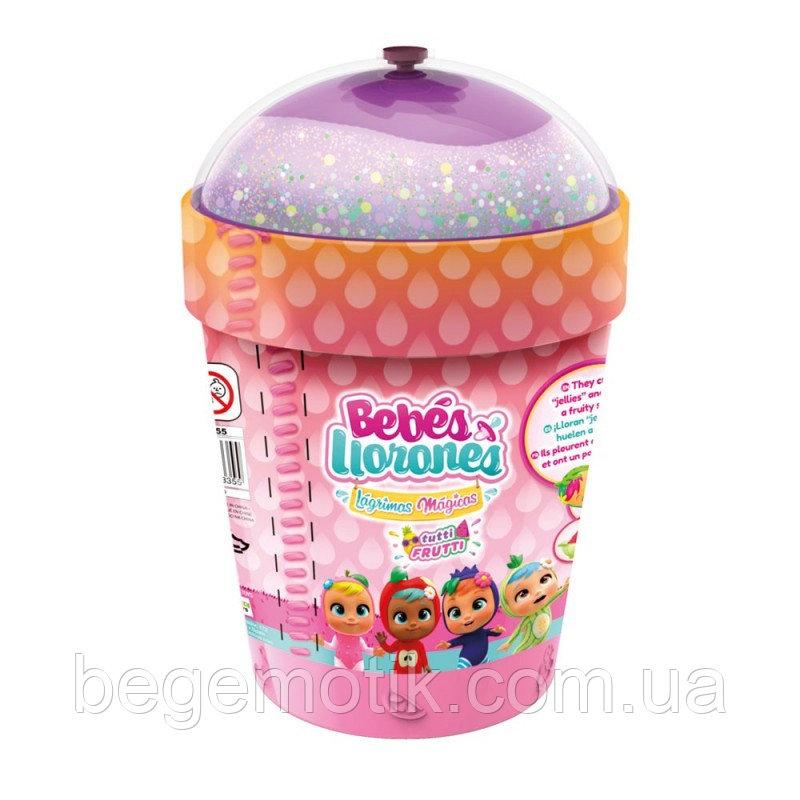 IMC Toys Пупс-сюрприз плачущий малыш c домиком смузи Тутти Фрутти Cry Babies Magic Tears-Tutti Frutti