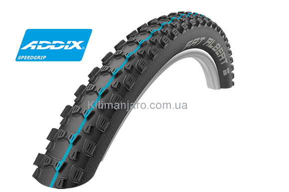 Покрышка 27.5x2.35 650B (60-584) Schwalbe FAT ALBERT REAR SnakeSkin TL-Easy Evolutoin Folding B/B-SK HS478 Addix Spgrip, 67EPI EK
