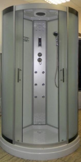 Гидромассажный бокс Atlantis AKL 1325P-T XL Standard 80x80 с низким поддоном
