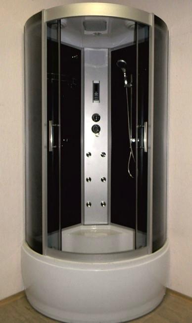 Гидромассажный бокс Atlantis AKL 100P XL Standard 100x100 с высоким поддоном