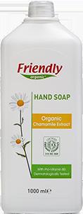 Органическое жидкое мыло для рук Friendly organic с экстрактом ромашки 1000 мл