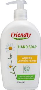 Органическое жидкое мыло для рук Friendly organic с экстрактом ромашки 500 мл