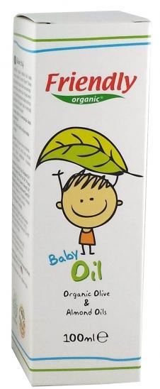 Органическое детское масло Friendly organic 100 мл